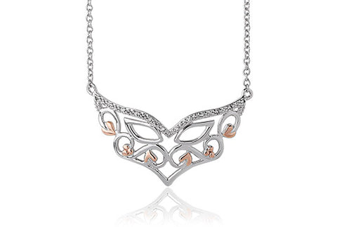 Clogau - Masque White Topaz Necklace 3SMQN