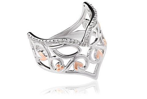 Clogau - Masque White Topaz Ring 3SMQR