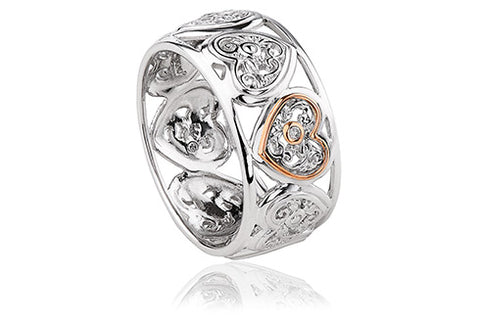 Clogau - Tree of Life One Diamond Ring 3SONR