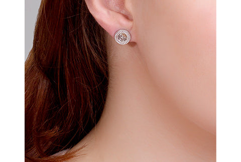 Clogau - Royal Roses Stud Earrings 3SRORCE xxx
