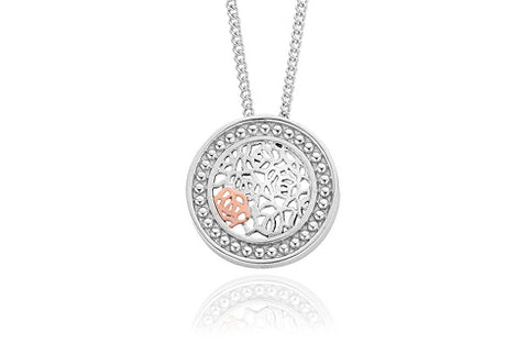 Clogau - Royal Roses Pendant Necklace 3SRORCP xxx