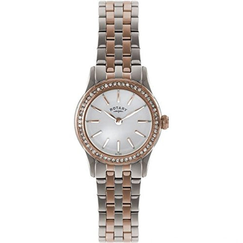 Rotary Ladies Verona Two Tone Bracelet Watch LB02572/01