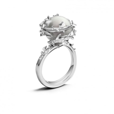 Kasun Fairytale Pearl Ring Size L 4401024