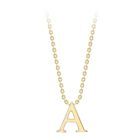 9ct Gold Initial A Pendant IN10-A 0302418