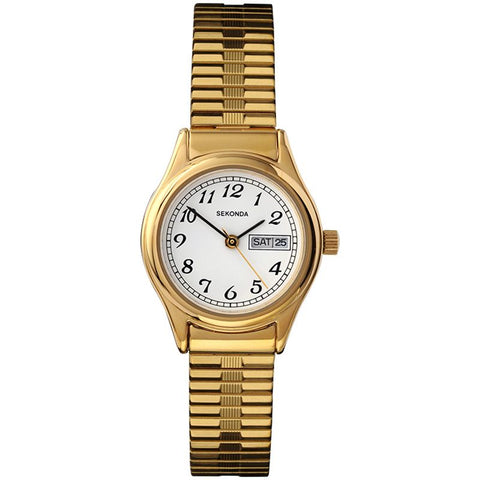 Sekonda Gold Plated Ladies Bracelet Watch 4924 1006044