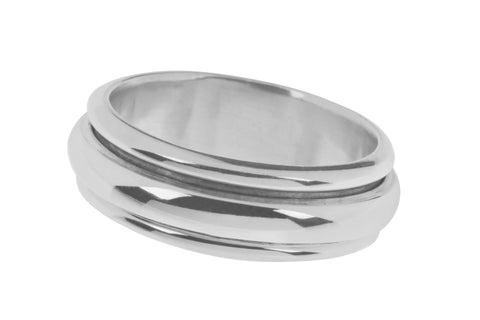 Tianguis Jackson Sterling Silver Band Ring R0921 0408055