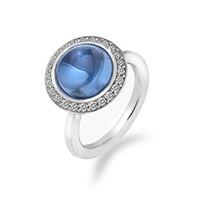 Hot Diamonds Emozioni Azure Laghetto Ring ER015 2101015 2101123