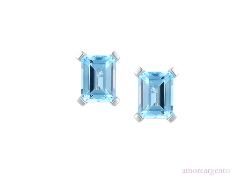 Amore Blue Lagoon Earrings 6239E