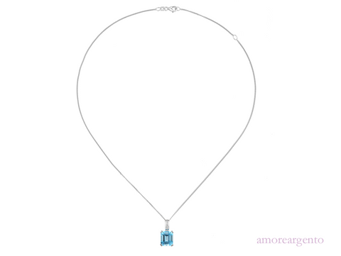 Amore Blue Lagoon Necklace 6239