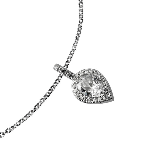 Diamonfire CZ Teardrop Pendant 65/1211/1/082