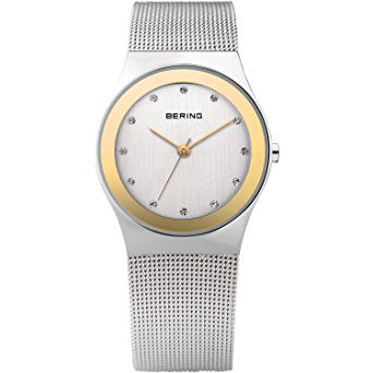 Bering Ladies Classic Polished Silver Watch 12927-010