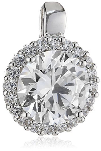 Diamonfire CZ Halo Pendant 65/0463/1/582
