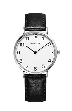 Bering Gents Classic Polished Silver Watch 11139-404