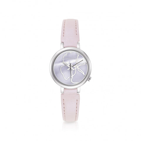Nomination - Ladies Paris Pink Flower Stainless Steel Watch 076000 014