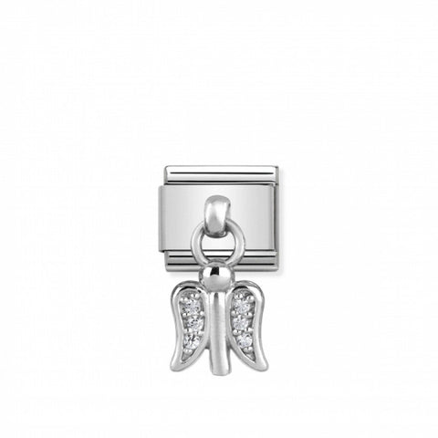 Nomination Hanging Silver & CZ Angel Charm 331800 11