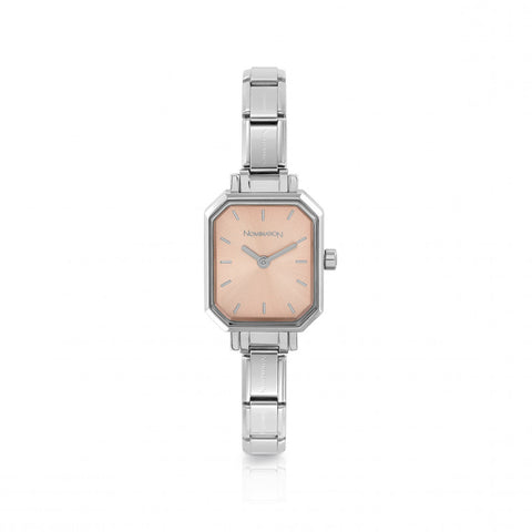 Nomination - Ladies Stainless Steel Watch with Pink Face 076030 014