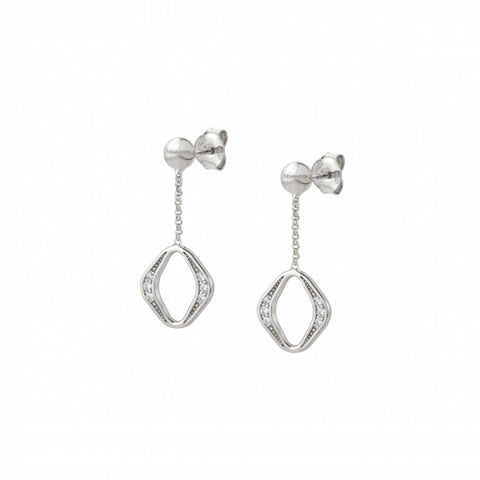 Nomination - Unica Sterling Silver Rhombus Earrings 146409005