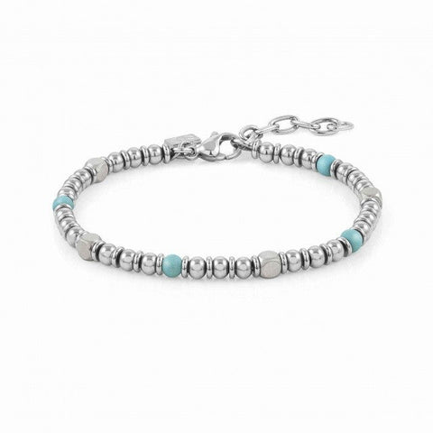 Nomination Instinct Bead Bracelet with Turquoise