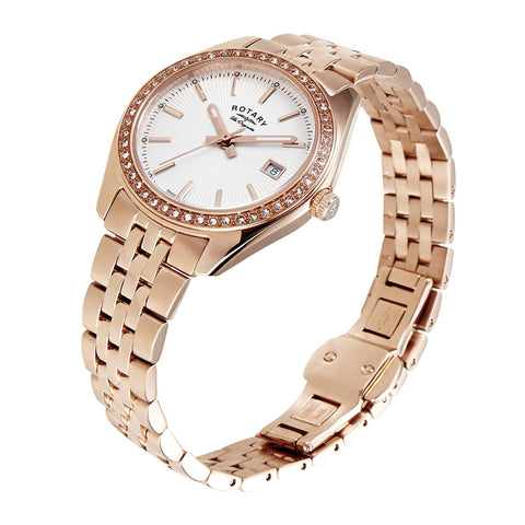 Citizen Eco-Drive Silhouette Crystal Ladies Watch EX1434-55D