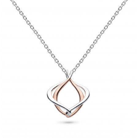 "Kit Heath Infinity Alicia Small Rose Gold 18"" Necklace 90018RG 4904016"