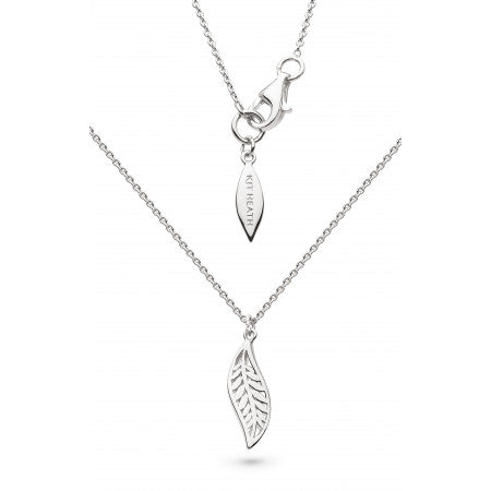 Kit Heath Blossom Eden Leaf Necklace 90249 4904014
