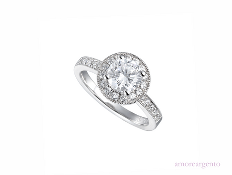 Amore Ice Fire Ring 9154SILCZ-O