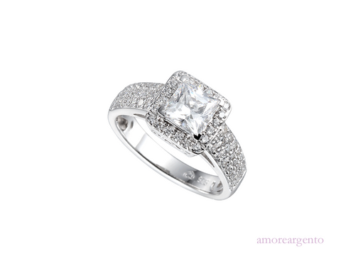 Amore Inferno Ring 9155SILCZ-N