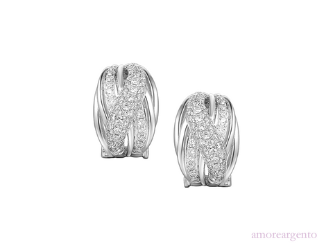 Amore Hollywood Clip Earrings 9160