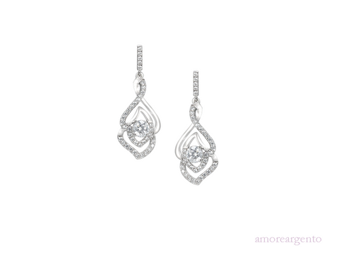 Amore Bellissimo-Collezione Earrings 9170SILCZ