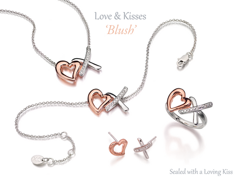 Amore Love & Kisses Blush Necklace 9199