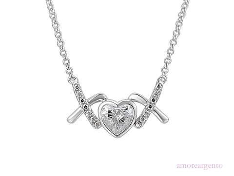 Amore Love & Kisses Nice Necklace 9201