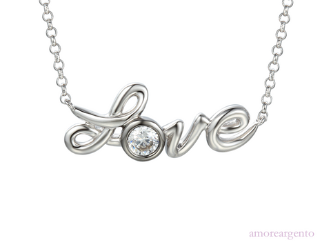 Amore Love & Kisses Loving You Necklace 9203