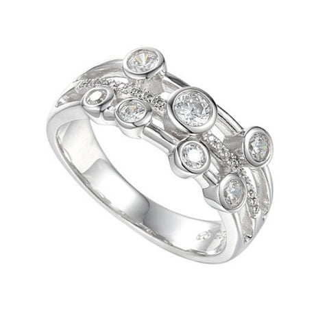 Amore Fantasia Mini Ring 9215SILCZ-O