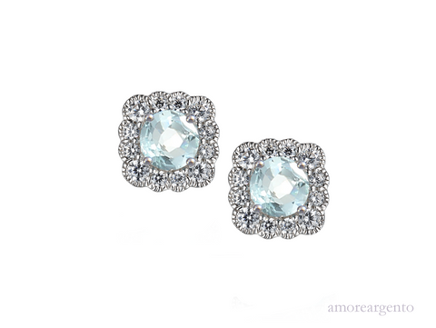 Amore Lovable Me Earrings 9263ESILCZ/AQ