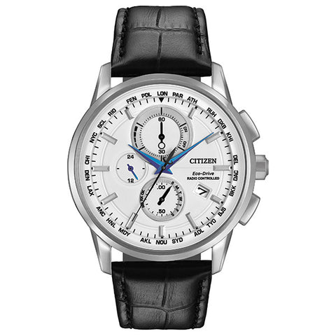 Citizen Eco-Drive World Chronograph A-T Mens Watch AT8110-02A