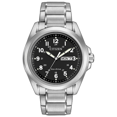 Citizen Eco-Drive Men's Bracelet Watch AW0050-82E