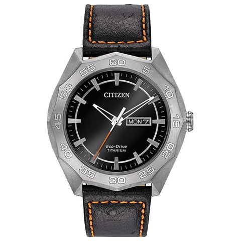Citizen Mens Eco-Drive Super Titanium Watch AW0060-03E