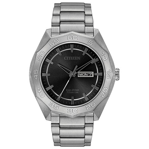 Citizen Mens Eco-Drive Watch AW0060-54H