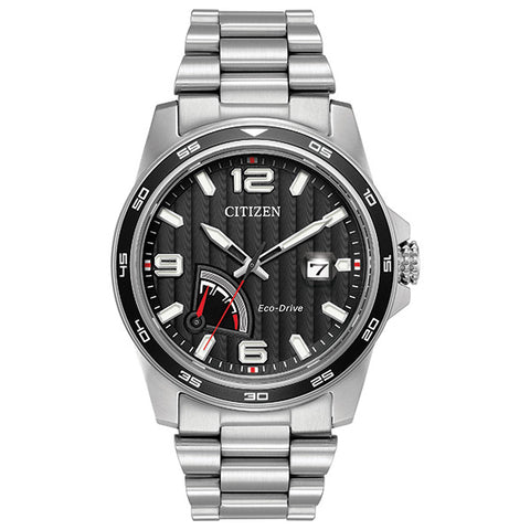 Citizen Eco-Drive Power Reserve Mens Watch AW7030-57E