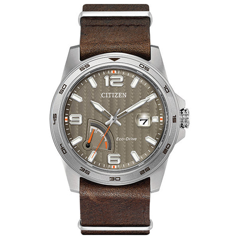 Citizen Eco-Drive Power Reserve Mens Watch AW7039-01H