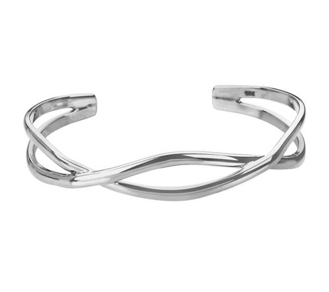 Tianguis Jackson Sterling Silver Twist Torque Bangle BT0565 0401137