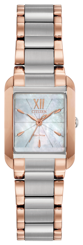 Citizen Ladies Eco Drive Two Tone Watch EW5556-52D 1003354