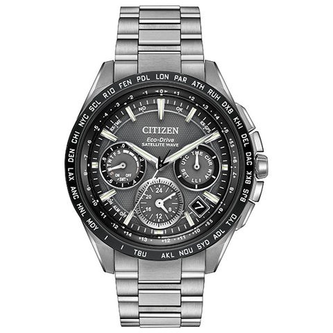 Citizen Eco-Drive Satellite Wave F900 Mens Watch CC9015-71E