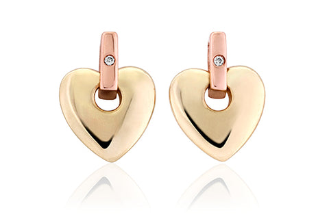 Clogau - Cariad Stud Earrings CE01