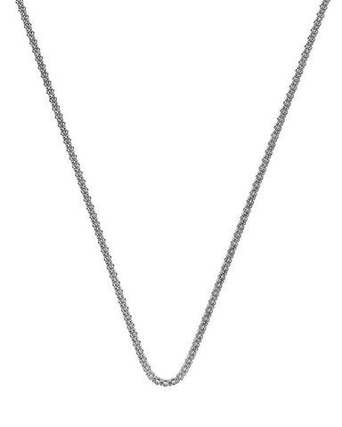 "Hot Diamonds Emozioni 30"" Sterling Silver Popcorn Chain CH029 2050076"