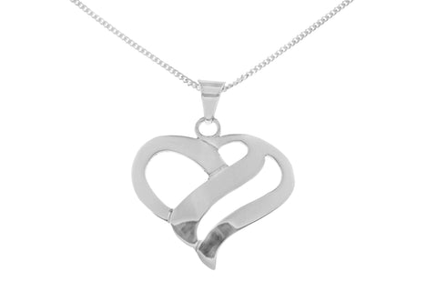 Tianguis Jackson Sterling Silver Heart Pendant CP0786 0402298
