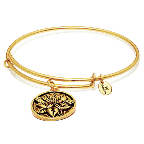 Chrysalis - Christmas Ponsietta Expandable Bangle