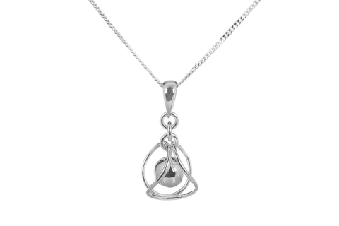 Tianguis Jackson Sterling Silver Floating Ball Pendant CY0010 0402311