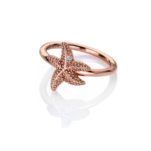 Hot Diamonds Rose Gold Plated Eternal Love Ring DR212