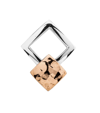 Nomination 18ct Gold Letter H Charm 030101 08